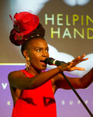 Noisettes singer Shingai at the WellChild event