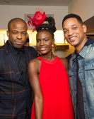 Noisettes singer Shingai with Will Smith