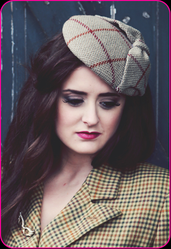Clara Bow hat by Bellapacella